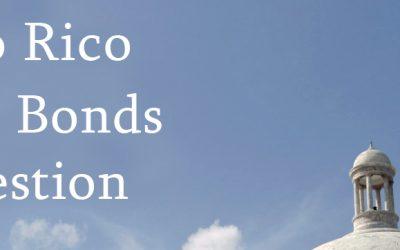 Puerto Rico Bonds in Question