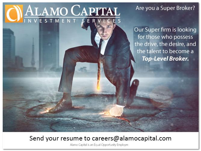 Brokerage Job Opportunities, Brokerage Jobs, Broker Jobs, Careers at Alamo Capital